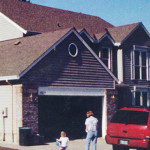 Photo of garage before remodeling began